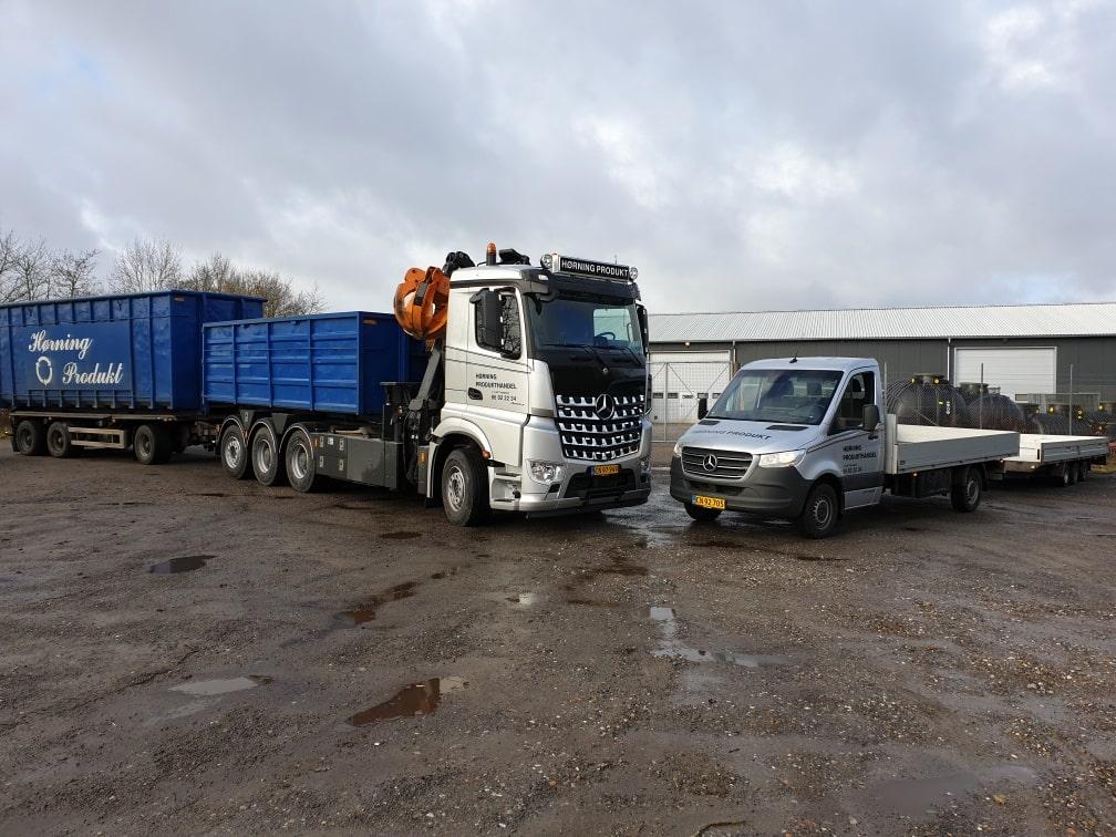 Lad- og lastvogn - Hørning Produkt